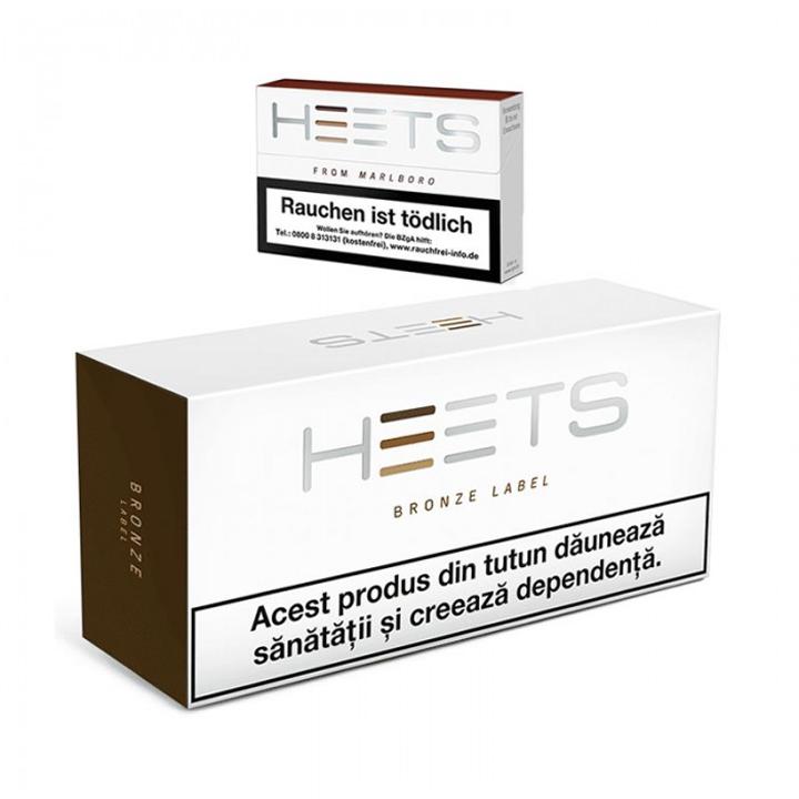 HEETS Bronze Label (10 Paket) From Marlboro